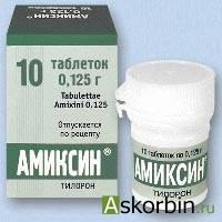 амиксин 125мг 10 таб по, фото 9