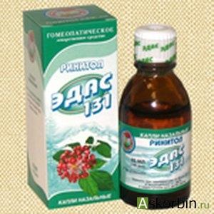 Эдас-130 капли 25мл /при аллергиях/, фото 2