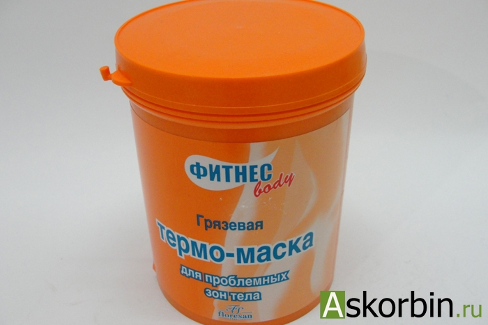 Фитнес Боди Термо-маска грязевая (формула 171) д/пробл. зон 500мл, фото 2