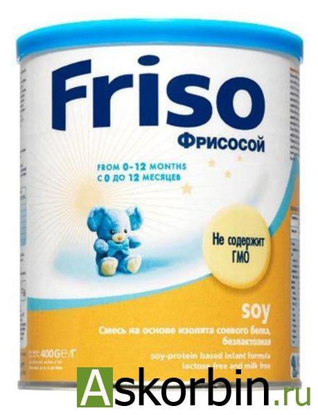 Фрисосой соевая смесь с рожд. 400г, фото 4