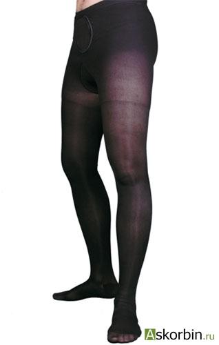 Колготки ОРТО 121 р.L темн. беж женские плотные, фото 4