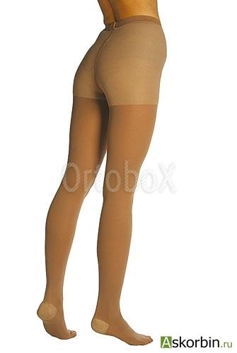 Колготки ОРТО 121 р.L темн. беж женские плотные, фото 3