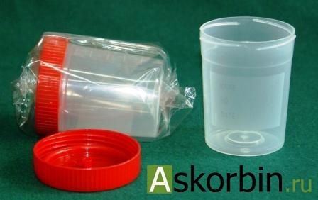 Контейнер д/мочи стерильный 100мл, фото 7