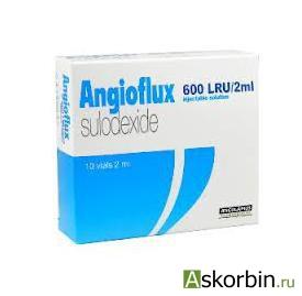 Ангиофлюкс р-р д/ин. 300ЛЕ/мл амп. 2мл N10, фото 1