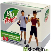 био-макс 60 таб п/о, фото 1