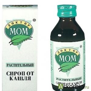 ДОКТОР МОМ 100МЛ СИРОП, фото 1