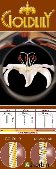 Голдлили Эксклюзив спираль внутриматочная р. Mini, фото 1
