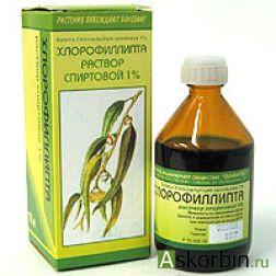 хлорофиллипт 1% 100мл спирт.р-р, фото 1