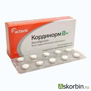 кординорм тб.п/о 5 мг 30, фото 1
