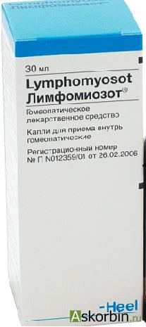 лимфомиозот капли 30мл, фото 1