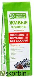 Мармелад Лакомства д/здоровья 170г Черника, фото 1