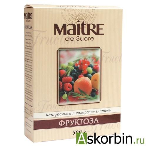 фруктоза 500г коробка, фото 1