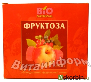фруктоза 500г коробка, фото 3