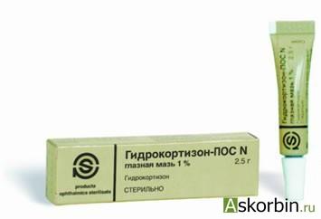 ГИДРОКОРТИЗОН-ПОС 2,5% 2,5 ГЛ МАЗЬ, фото 2
