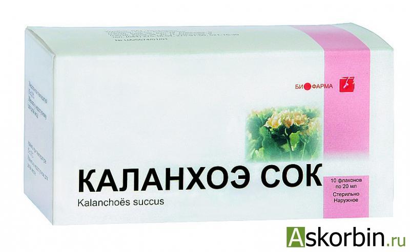 каланхоэ сок 20.0 мл, фото 2
