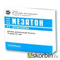 мезатон 1% 1мл 10, фото 2