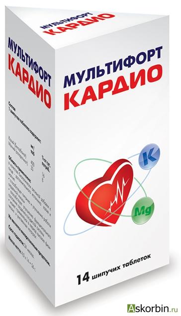 мультифорт кардио таб.шип 14, фото 1