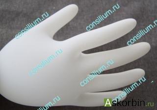 перчатки латексные стер. хирург. р,7,5, фото 2