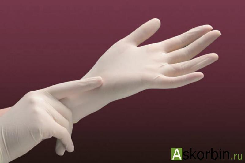 перчатки SFM латексные н/стер.L, фото 1