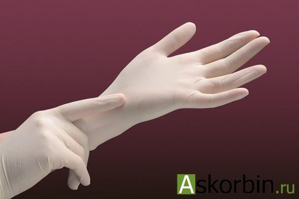 перчатки латексные стер. хирург. р,7,5, фото 1
