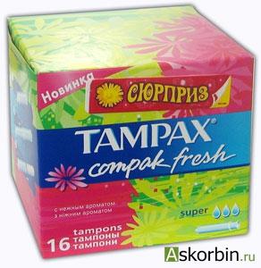 тампоны тампакс компак фреш супер 16, фото 5