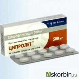 ципрофлоксацин фото таблетки