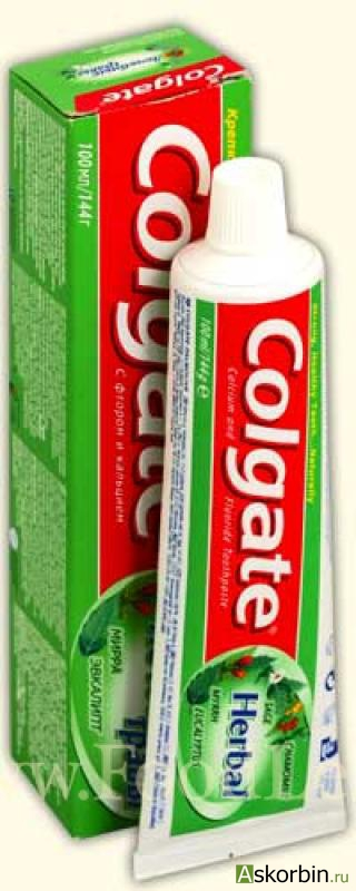 зуб.паста colgate леч.травы 150мл, фото 2
