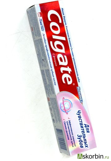 зуб.паста colgate для чувств. зубов 75мл, фото 1