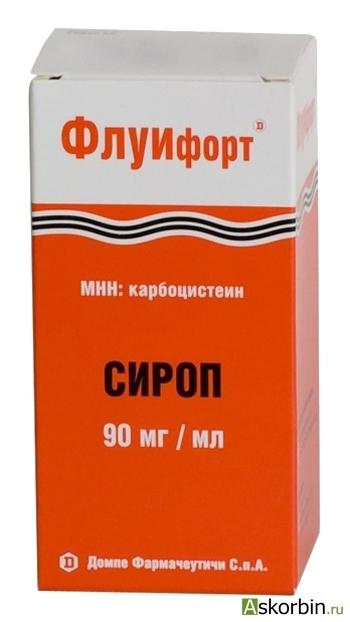 Флуифорт сироп 9г/100мл (Dompe Farmaceutici SPA), фото 2