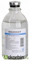 маннит 15% 400 мл р-р д/инф, фото 4