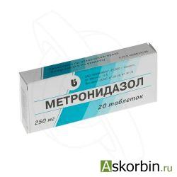 Метронидазол таб. 250мг №20, фото 5