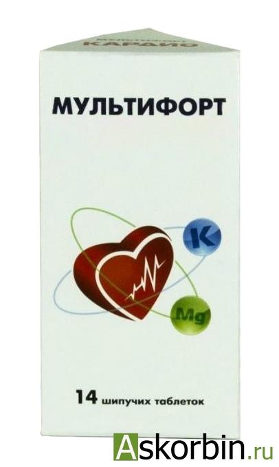 мультифорт кардио таб.шип 14, фото 3
