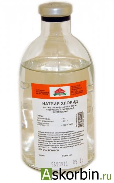 натрия хлорид 0.9% 400мл, фото 2