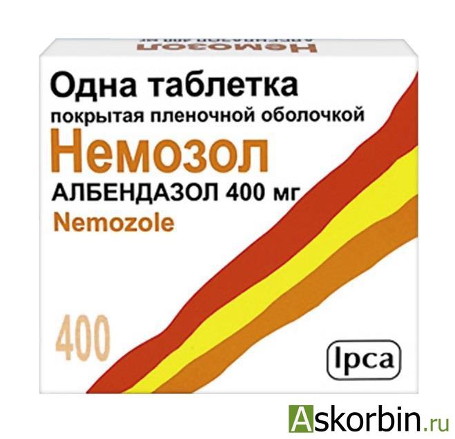 Немозол таб. п/о 400мг №1, фото 5