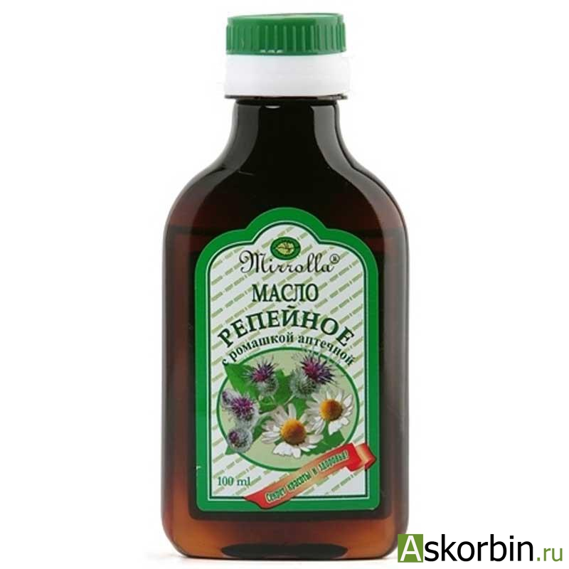 репейное масло 100мл с гинко билоба, фото 1