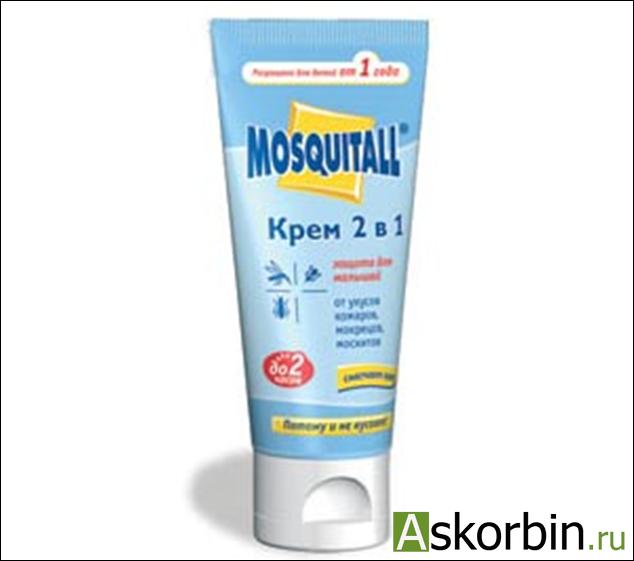 москитол крем от комаров защ.д/малыш.2в1, фото 1